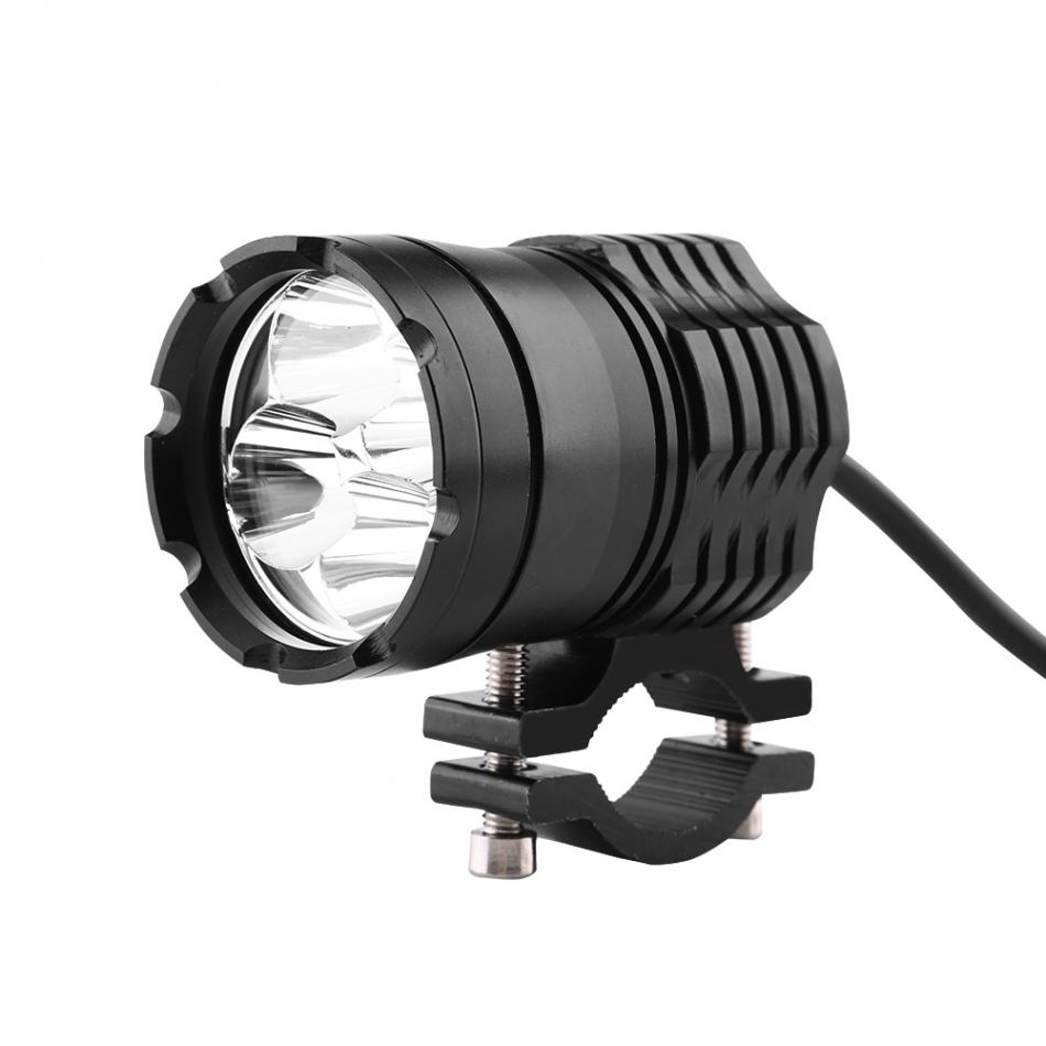 Led Spotlight Headlamp: CNC Aluminum 40W 4 LED Motorcycle Driving Headlight Front