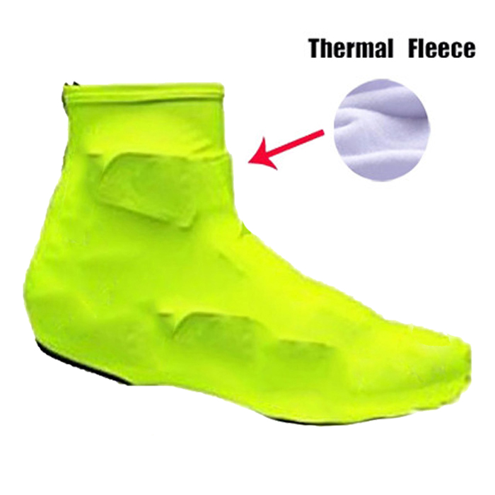 2018 Hot High Quality Unisex Ciclismo Bike Cycling Shoes Cover Bicycle Accessorie Winter Thermal Fleece Over Cover
