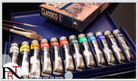 Free shipping (ART) Maimeri Classico 12 colors paint Murray classic 20ml box NO.0398055
