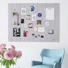 Фетровая доска в скандинавском стиле с буквенным принтом, доска для объявлений, домашняя фотография, Настенный декор для планирования расп...
