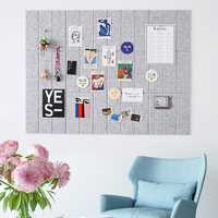 Nordic Style Felt Letter Note Board Message Board Home Photo Wall Decor Planner Schedule Board Office Home Decoration