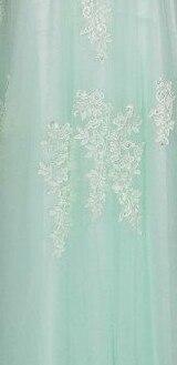 Robe De Soiree SSYFashion, кружевное, с бисером, сексуальное, с открытой спиной, длинное вечернее платье, для невесты, банкета, элегантное, длина до пола, для вечеринки, выпускного вечера - Цвет: 745 Light green