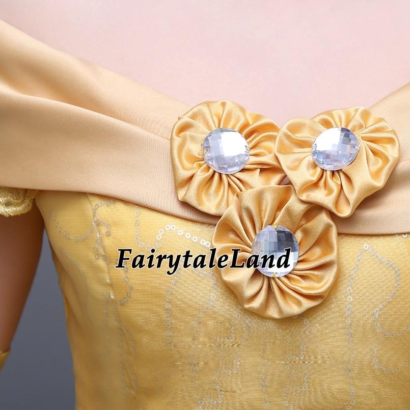 Princess yellow Fashion Halloween 9