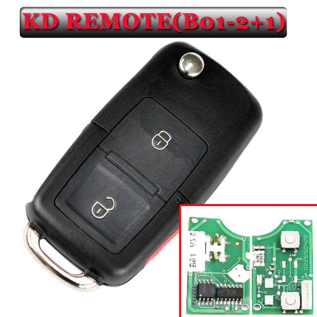 Free shipping B01  2+1 Button for  vw Style Remote  key For KD900(KD200) Machine (1piece)