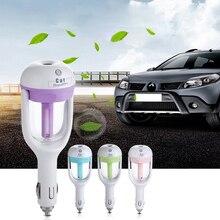MIni 12V Car Steam Humidifier car electronic Air Purifier Aroma /Essential oil diffuser car Aromatherapy Mist Maker fogger
