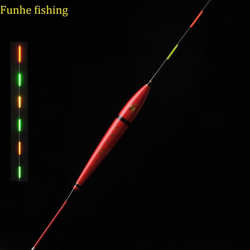 4399d413d Bóia de Pesca Noite de Luz Flutuador Pesca da Acessórios Flotadores ...