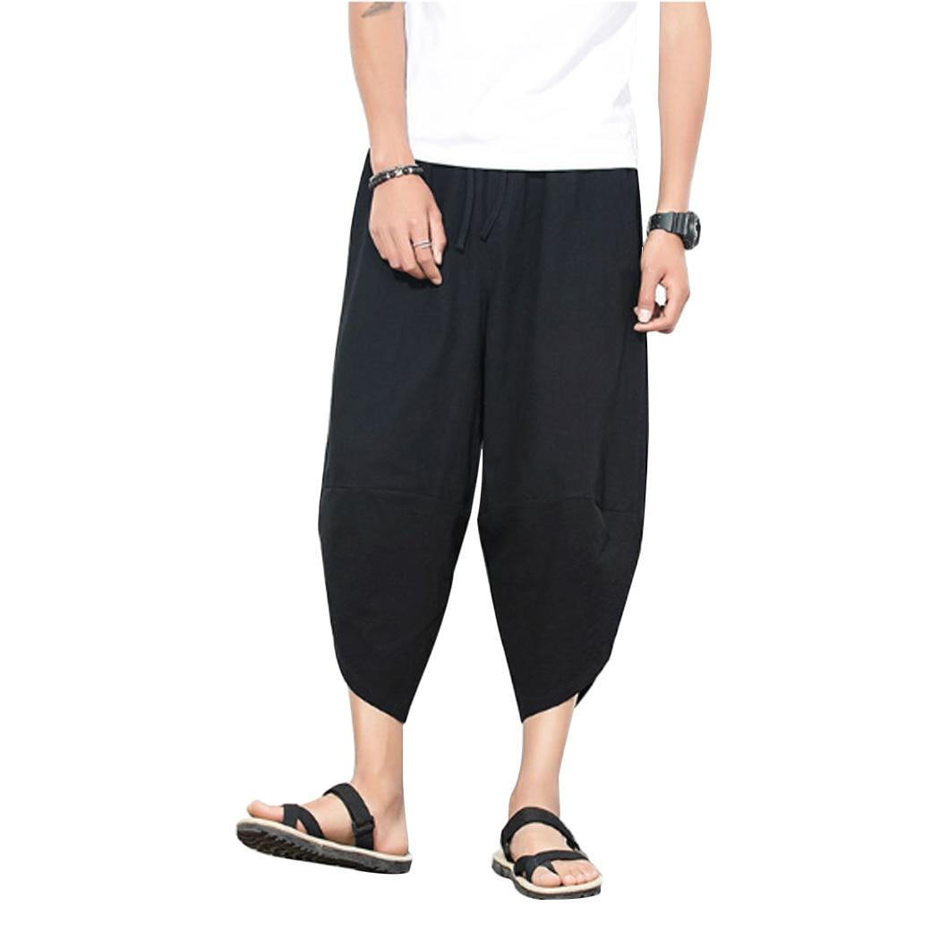 Jogger Trousers Harem-Pants Hiphop Lantern Pockets Streetwear Loose Plus-Size Fashion