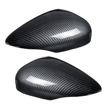Car Wing Door Carbon Fiber Rear View Mirror Cover Trim Case for Ford for Fiesta Mk7 2008 2009 2010 2011 2012 2013 2014 2015 20