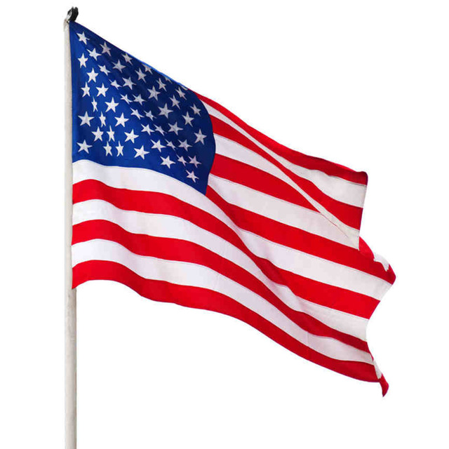 92db7f10fb99 1pcs New Arrival Jumbo 3 x5  American Flag USA US FT Polyester Be  Proud Show off Your Patriotism Wholesale