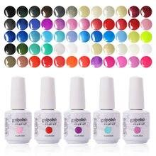 Arte Clavo – Kit de vernis à ongles Gel UV, choix de 10 couleurs, 15ml, 220 couleurs au choix