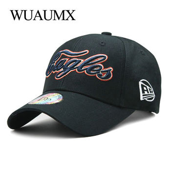 Wuaumx High Quality Baseball Cap For Women Men's Baseball Caps Embroidery Letter Pure Cotton Outdoor Sport Snapback Cap Unisex цена 2017