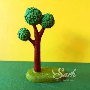 Image 5 - Adornos de pastel de cocoteros y Leones Ins para cumpleaños, decoración de postres para niños y niñas, regalos bonitos para fiestas infantiles
