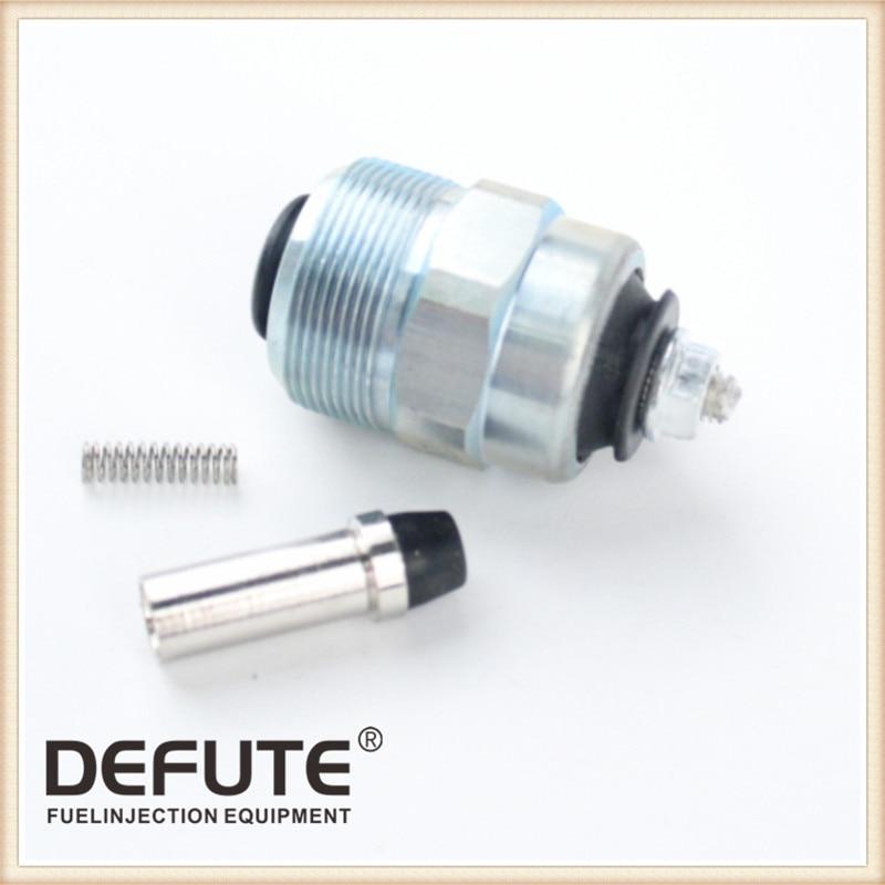 Топливный инжектор насос электрический клапан для 186 FA 186FA 186F дизельный двигатель генератор, 186FA масляный насос электромагнитный клапан - Цвет: Solenoid valve