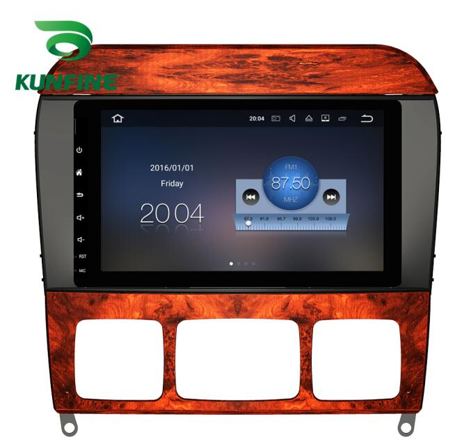 Quad Core 1024*600 Android 6.0 Car DVD GPS Navigation Player Deckless Car Stereo For Benz ML CLASS W164 2005-12 Radio Headunit