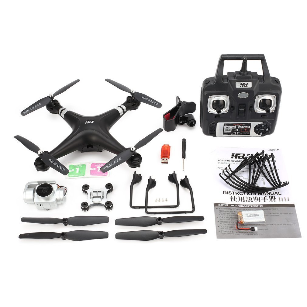 SH5HD 2.4G FPV Drone RC Quadcopter with 1080P Adjustable Wide Angle Wifi HD Camera Live Video Altitude Hold Headless Mode 360 degree 170 wide angle lens sh5hd drones with camera hd quadcopter rc drone wifi fpv helicopter hover flip live video photo