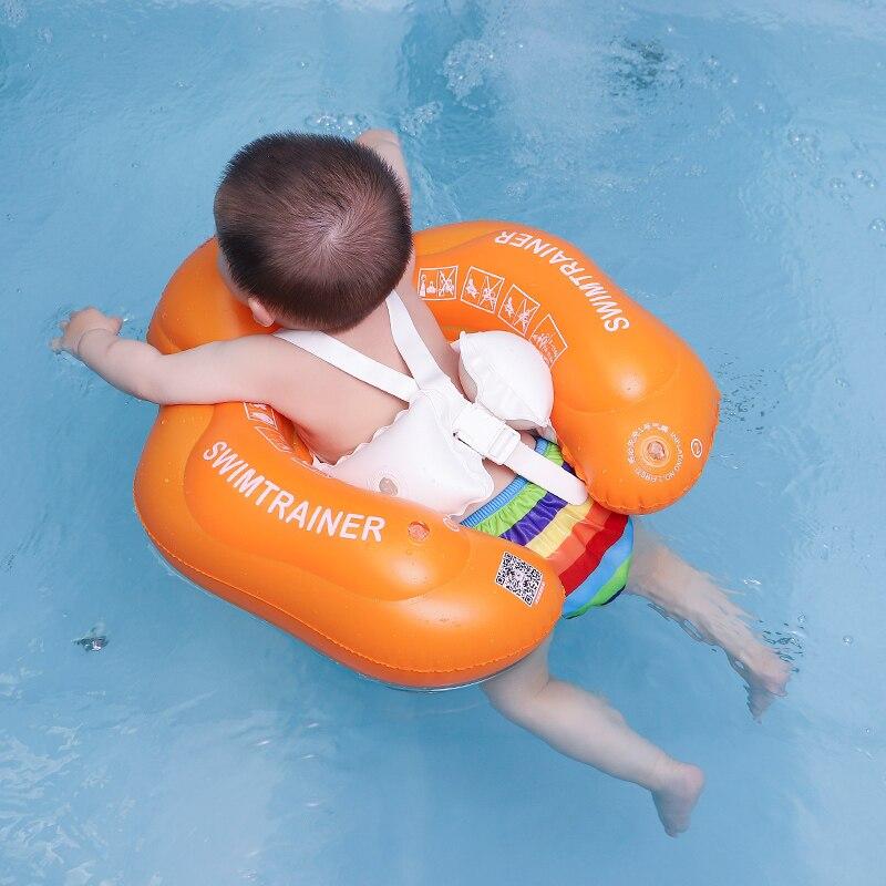 2017 Nuevo Bebé axila flotante anillo infantil de la nadada inflable niños Piscina accesorios círculo baño balsa inflable anillos