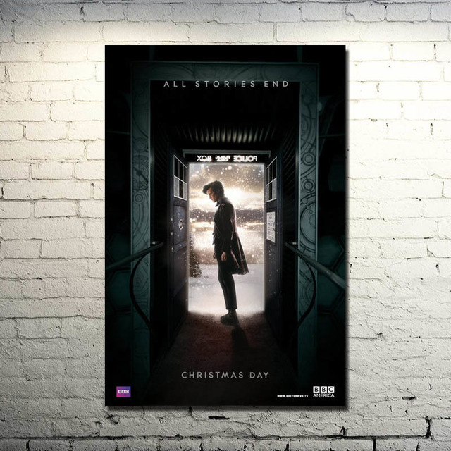 doctor who 9 tv series art silk poster print 13x20 20x30 inches