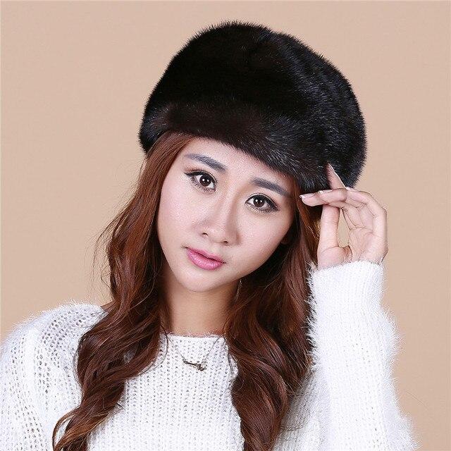 Высокое Качество леди новый норки норки шляпа вязаная шапка зимы детей утолщение теплая зима hat бесплатная доставка/2color. # SD18