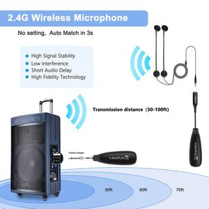 Image 3 - KIMAFUN KM 710 2.4G Wireless Microphone designed for Accordion Professional Musical Instrument Condenser High Fidelity Voice Mic