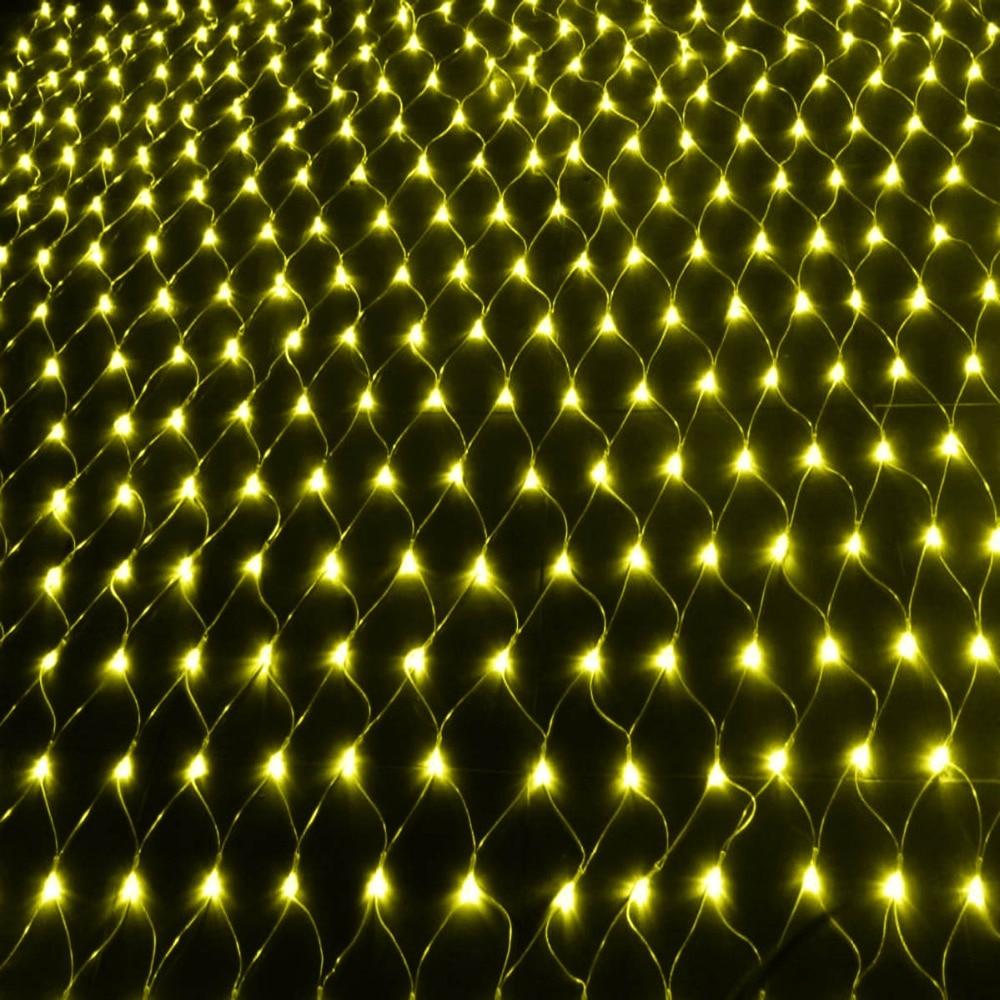 Uus aasta! 1tk 220V mitmevärviline 96 LED-i 1,5M * 1,5 cm - Puhkusevalgustus - Foto 2