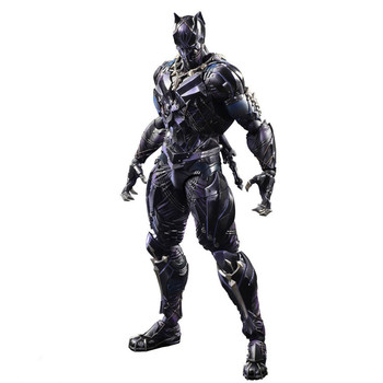 Black Panther Figure Variant Playarts PVC Action Figures Collectible Model Toy  Toys the Avengers 26cm