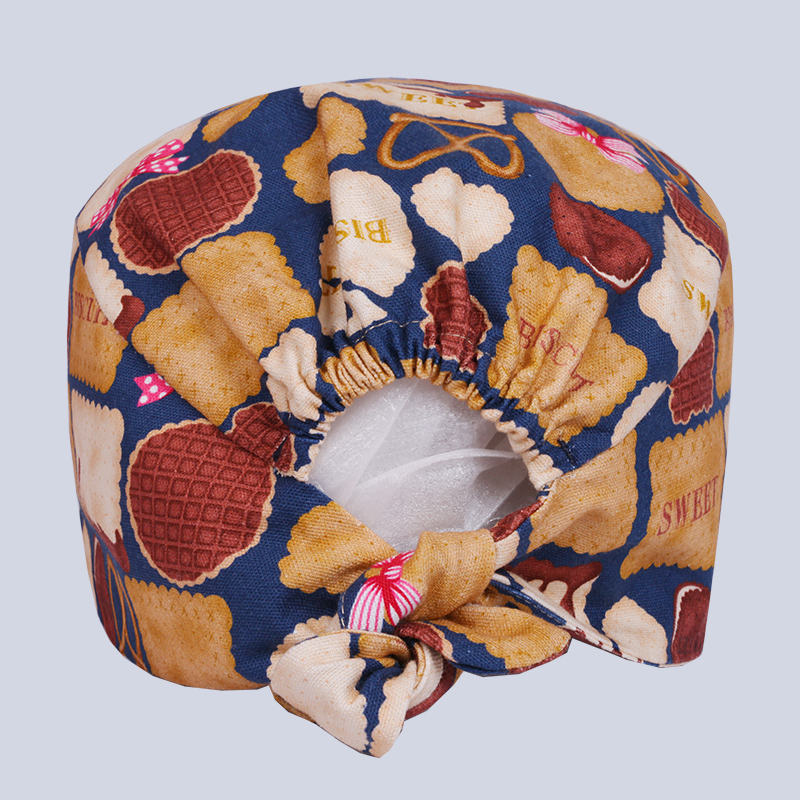 Funny Biscuits Print Medical Caps Surgical Scrub Cap Hospital Doctor Dentist Laboratory Pharmacy Beauty Salon Men Women Workwear Elegant In Style Work Wear & Uniforms Back To Search Resultsnovelty & Special Use