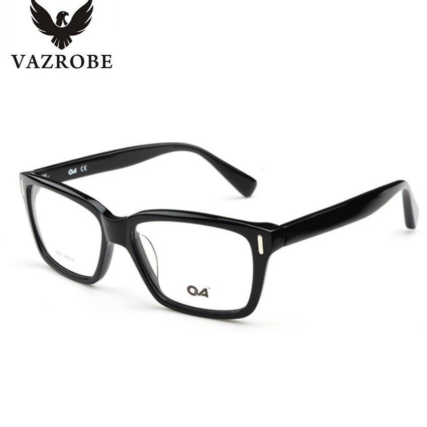 Vazrobe Carré Pas Cher lunettes avec des verres transparents Hommes Femmes Lunettes  Cadre pour Vision Vue claire lentille optique dans Lunettes Cadres de ... e6bc12f6d5f2