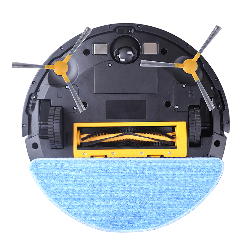 LIECTROUX C30B Robot Vacuum Cleaner Map Navigation,WiFi App,4000Pa Suction,Smart Memory,Electric WaterTank Wet Mopping Disinfect 6