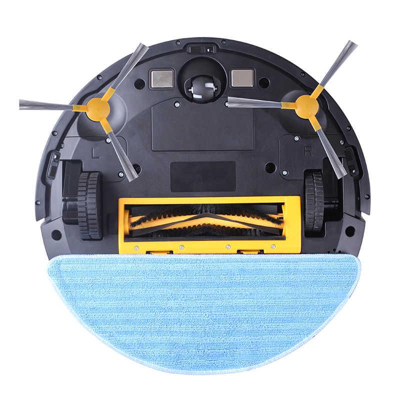 LIECTROUX Roboter-Staubsauger C30B, 4.000 Pa Saugleistung, 2D-Kartennavigation, mit Speicher, WiFi-App, Elektro-Wassertank, bürstenloser Motor