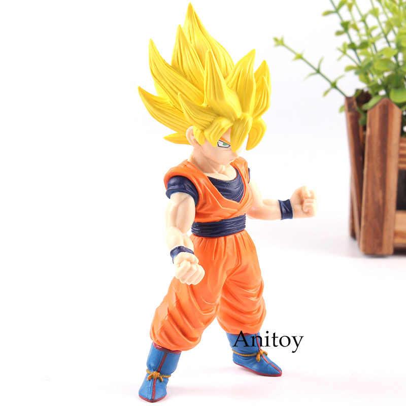 2 Dragon Ball Z Super Saiyan Goku Son Goku Dragon Ball Goku PVC Action Figure Coleção Modelo Brinquedos