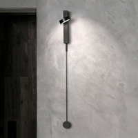 Nordic Arte Designer De Sala De Estar Lâmpada de Parede Decorativo Simples Personalidade Pós moderno Cabeceira Lâmpada De Parede LEVOU|Luminárias de parede| |  -