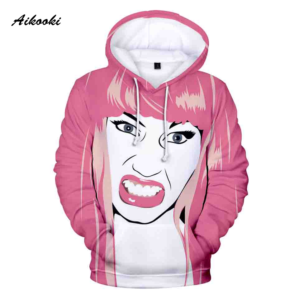 3D Hoodies For Women/Men Casual Print Nicki Minaj hoodie Sweatshirts Pullover Fans StreetWear Long Sleeve 3D Clothes HighQuality jung kook bts persona