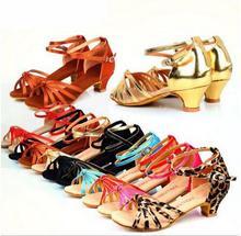 2017 Square Line Dance Ballroom Latin Dance Shoes Women Girls Low Heel Salsa Shoes Cheap Salsa Dance Shoes For Women