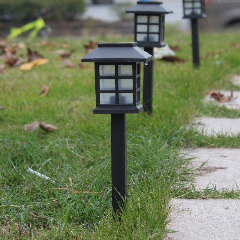 Solar Powered LED Garden Landscape light Waterproof Outdoor Solar LED Pathway Lawn lamp Decoration light Solar Lamps     - title=