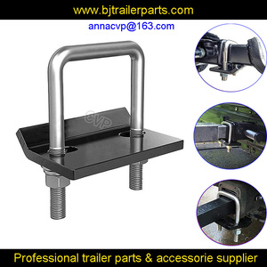 CVP anti rattle hitch tightener stabilizer with hitch cross clamp U bolt hitch ball mount tighener wobble carrier heavy duty(Hong Kong,China)