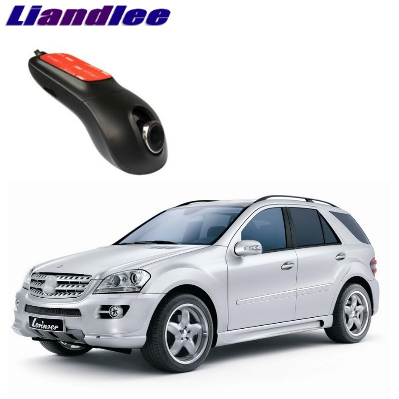 Liandlee For Mercedes Benz ML MB W164 2005~2011 Car Road Record WiFi DVR Dash Camera Driving Video Recorder