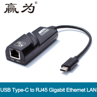 USB Type C To RJ45 Male To Female Ethernet LAN Converter USB 3 1 Type C