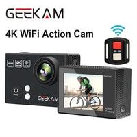GEEKAM H2 H2R Ultra HD 4K Wifi Action Camera 170D 4K 25FPS 1080P 60FPS Camera Go