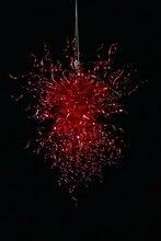 2014 Wholesale Decorative K9 Red Crystal Chandelier Light