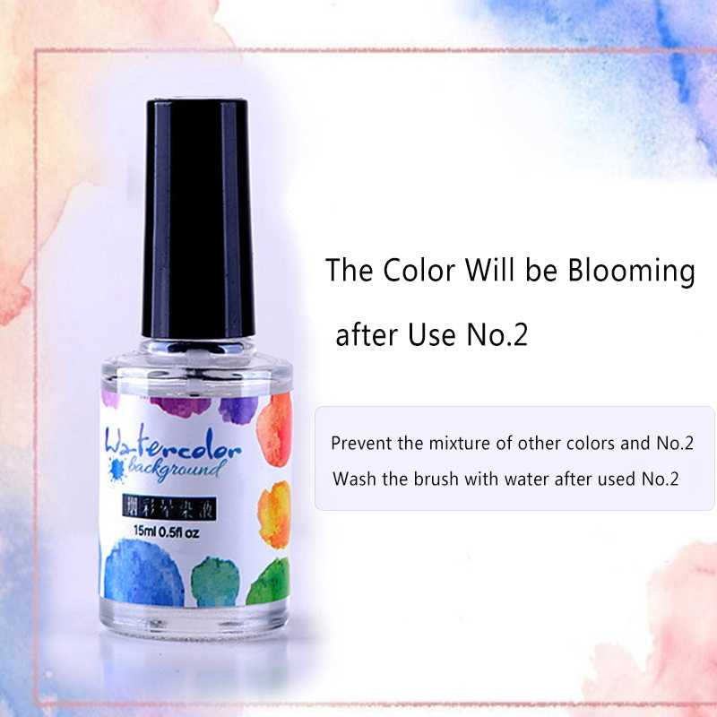 592898de3eec 15ml Smoke Effect Smudge Bubble Watercolor Ink Nail Polish Blooming Gel  Colorful Blooming Gel DIY Varnish Manicure Decoration