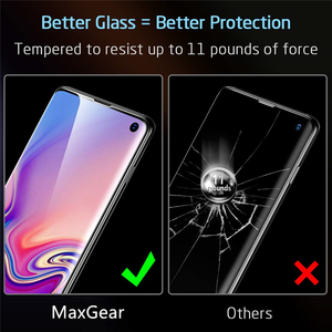Image 3 - 11D Full Curved Screen Tempered Glass For Samsung Galaxy S8 S9 S10 Plus S10E S7 ED Protector For Note 8 9 10 Pro Protective Film