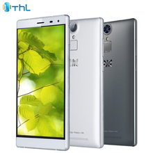 Original THL T7 Cell Phone 3GB RAM 16GB ROM MTK6753 Octa-core 5.5 inch 4800mAh 13.0MP Android 5.1 Fingerprint 4G Smartphone