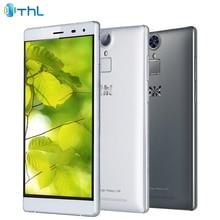 Original THL T7 Cell Phone 3GB RAM 16GB ROM MTK6753 Octa-core 5.5 inch 4800mAh 13.0MP Android 5.1 Fingerprint 4G Smartphone