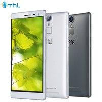 Orijinal THL T7 Cep Telefonu 3 GB RAM 16 GB ROM MTK6753 Octa çekirdekli 5.5 inç 4800 mAh 13.0MP Android 5.1 Parmak Izi 4G Smartphone