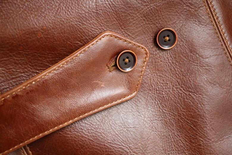 HTB1LMVPiYZnBKNjSZFrq6yRLFXa4 Free shipping,Brand men's 100% genuine leather Jackets,classic oil wax cow leather jacket,japan brakeman jacket.original