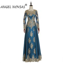 Angel Novias Long Sleeves Evening Dress 2019
