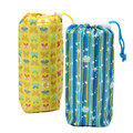 Free Shipping Neoprene Insulation Bag Cute Yellow Blue Color Cooler Bag Thermal Bags for Bottle QJL049