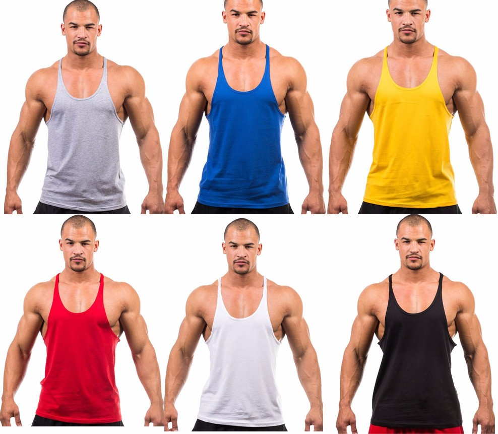 Be Fit Muscle Tank Gym Training Fitness Sport Activewear Men's Clothing