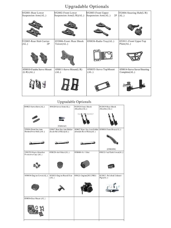 94052 upgrades-29 items
