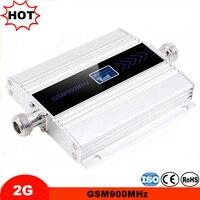 Lcd ディスプレイミニ 2 グラム GSM 900 携帯電話の信号信号ブースター GSM リピータ携帯アンプ